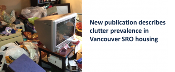 Publication: Prevalence of Residential Clutter in Vancouver SROs