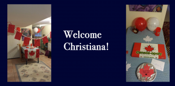 Big congrats and welcome to Christiana!