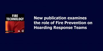 Publication: Role of Fire Prevention on Hoarding Response Teams